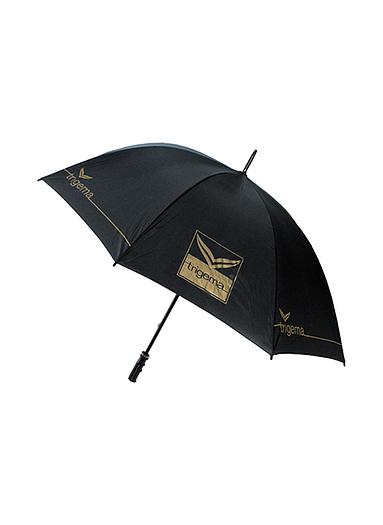 Damen Regenschirm Fiberglas Größe: 900 Material: mit Trigema Logo und Schriftzug Farbe: schwarz
