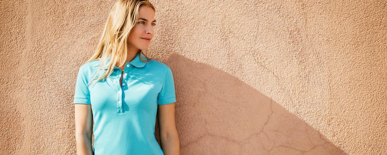 7cc59516f93bbc Poloshirts für Damen online kaufen