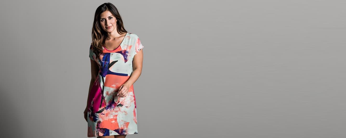 best website 29848 267b5 Kleider und Röcke in großen Größen online kaufen | TRIGEMA