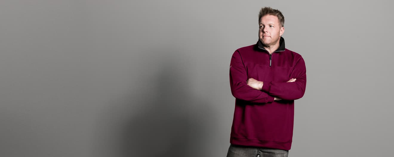 Herren Sweatshirts & Pullover in Großen Größen | Trigema