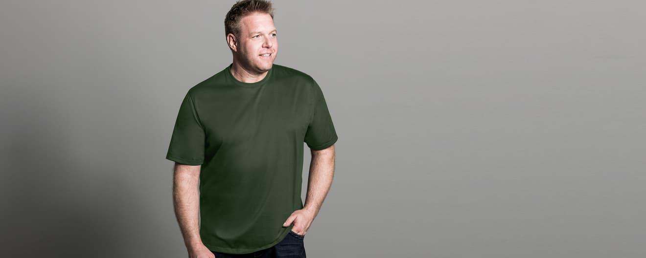 795437a54bae70 Herren T-Shirts in großen Größen online kaufen