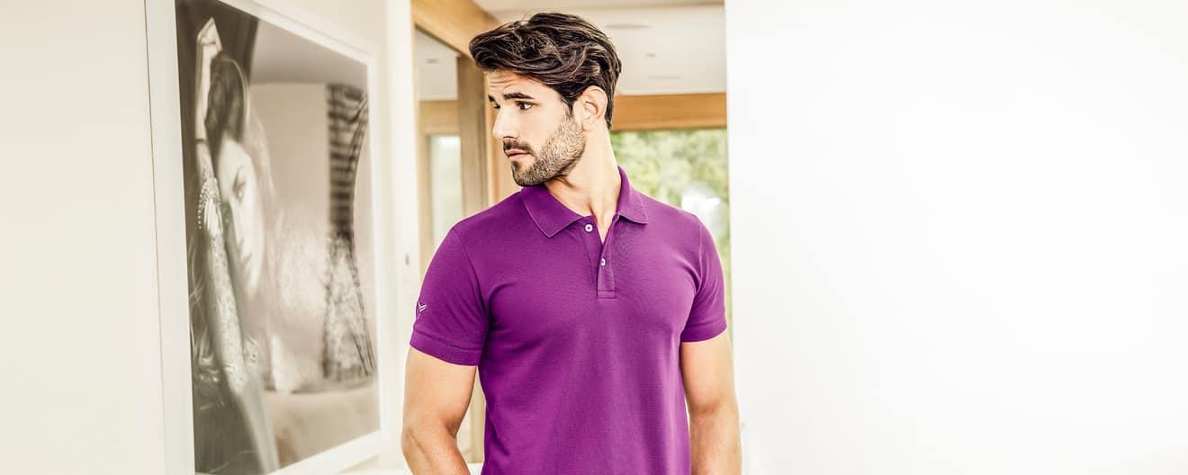 new concept dc7a7 3b4dd Poloshirts für Herren online kaufen | TRIGEMA