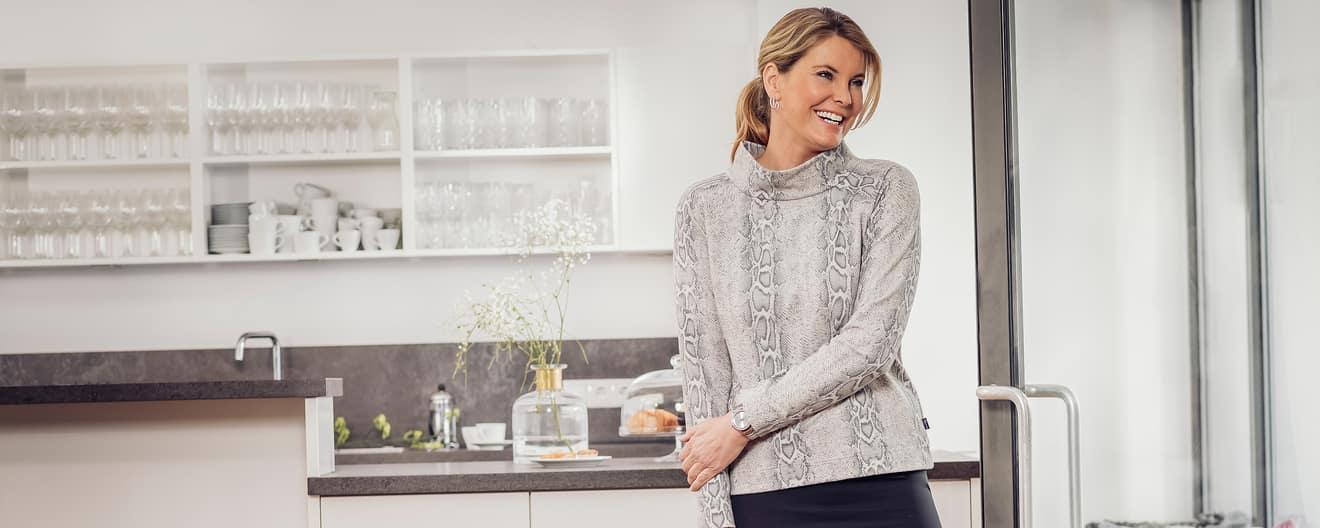 online retailer b88fe e3131 Sweatshirts & Pullover für Damen online kaufen   TRIGEMA