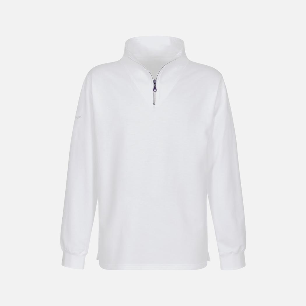 Weißer Sweater