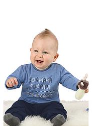 Trigema Kinder Shirt Mama & Papa