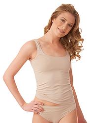 Trigema Damen Trägershirt Polyamid/Elastan