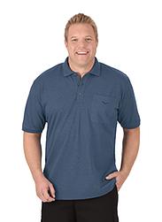 Trigema Herren Polo-Shirt mit Brusttasche