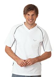 Trigema Herren Sport-Shirt Funktions-Piqué