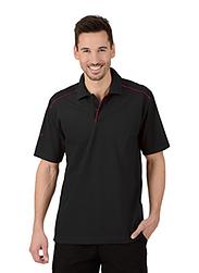 Trigema Herren Polo-Shirt 100% Biobaumwolle Schwarz-C2C