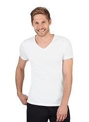 Trigema Men V-Neck Shirt - Slim Fit