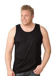 Trigema Herren Träger-Shirt 100% Baumwolle