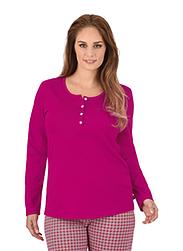 Trigema Damen Langarm-Shirt Baumwolle