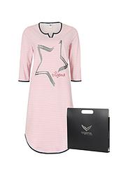 Trigema Damen Geschenk-Set Nachthemd