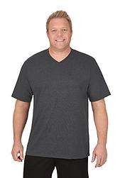 Trigema Herren V-Shirt DELUXE Baumwolle