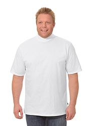 Trigema Men T-Shirt with Stand-Up Collar