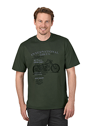 Trigema Men T-Shirt Motorbike