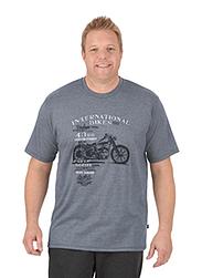 Trigema Herren T-Shirt Motorrad