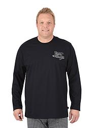 Trigema Herren Langarm-Shirt