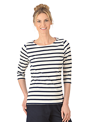 Damen Kollektion Shirt - Marine Look