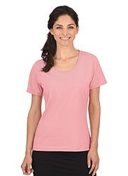Trigema Damen T-Shirt 100% Biobaumwolle Puder-C2C