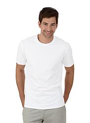 Trigema Herren T-Shirt 100% Biobaumwolle Weiss-C2C