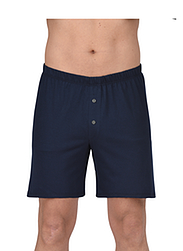 Trigema Herren Boxer-Shorts 100% Biobaumwolle Navy-C2C
