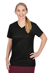 Trigema Damen V-Shirt 100% Tencel