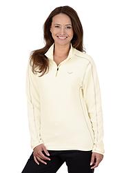 Trigema Damen Fleece Shirt Natur