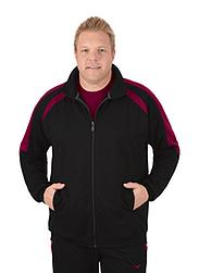 Trigema Herren Raglan-Jacke Sweat-Qualität