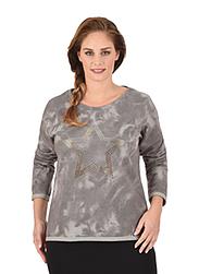 Trigema Damen Sweater Stern