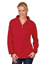 Trigema Damen Sweat-Shirt Reißverschluss