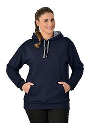 Trigema Damen Kapuzen-Shirt Sweat-Qualität