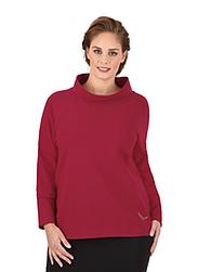 Trigema Damen Sweater mit Swarovski® Kristallen