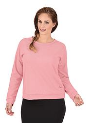 Trigema Damen Sweatshirt mit Schleife
