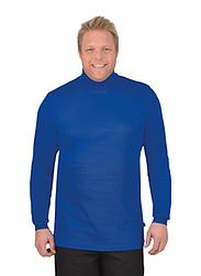 Trigema Men Long Sleeve Polo Neck