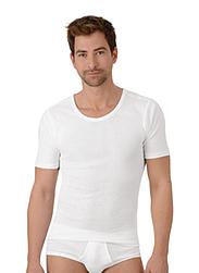 Trigema Men Shirt Fine Rib Twin Pack