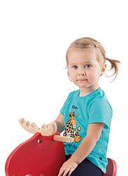 Trigema Kinder T-Shirt Baby-Giraffe