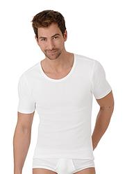 Trigema Men Shirt Organic Cotton Twin Pack