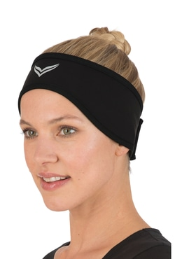 7906f93024c0bc Softshell-Stirnband schwarz ...
