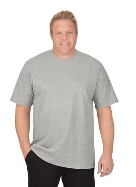 Melange T-Shirt aus DELUXE Single Jersey grau-melange ...