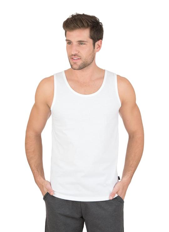 bbef28fed59757 Tank Top 100% Cotton white