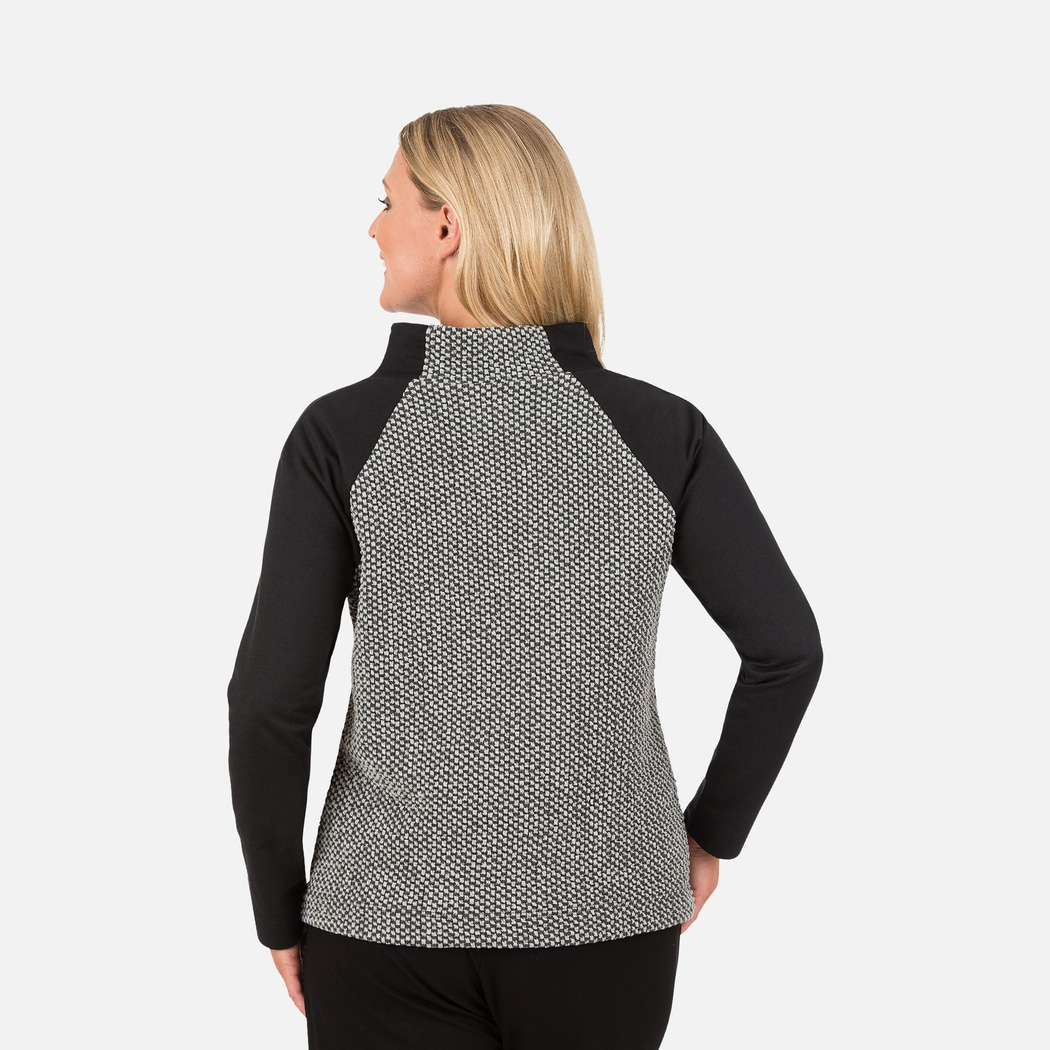 jacquard pullover schwarz bunt xxl trigema. Black Bedroom Furniture Sets. Home Design Ideas