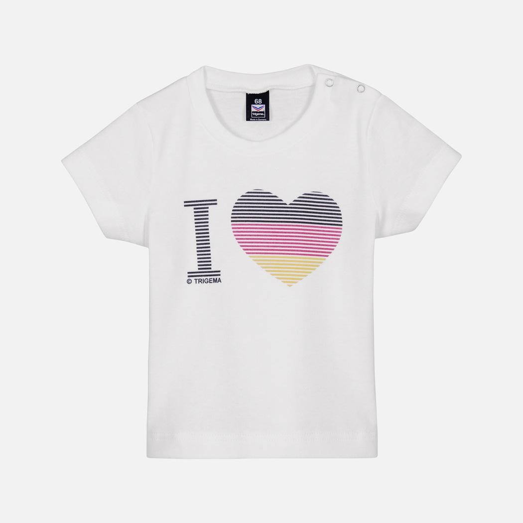 b294076229f5e6 Baby Deutschland Shirt weiss
