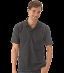 Trigema Herren Polo-Shirt Silber