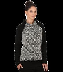 Trigema Damen Stehkragen-Sweater