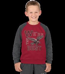 Trigema Kinder Sweat-Shirt Adler