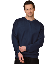 Trigema Herren Sweat-Shirt Biobaumwolle